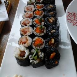 Kimbap il sushi coreano