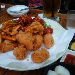 Chimek polllo e birra