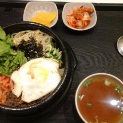 Bibimbap uno squisito piatto unico coreano