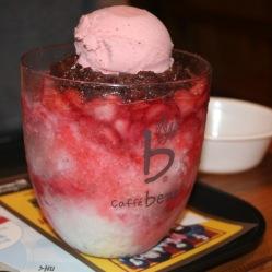 Patbingsu la granita gelato coreana