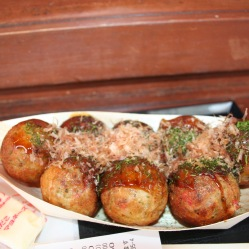 Takoyaki a Osaka