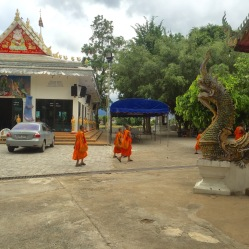 Temple in San Phak Wan