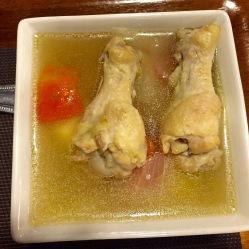 Zuppa di pollo e patate