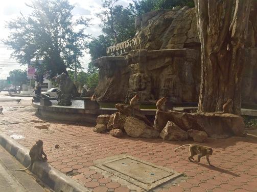 The Monkey fountain - Prachuap Khiri Khan